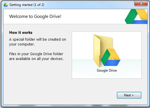Google Drive First step