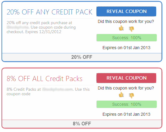 Clean style for JC Coupon PRO